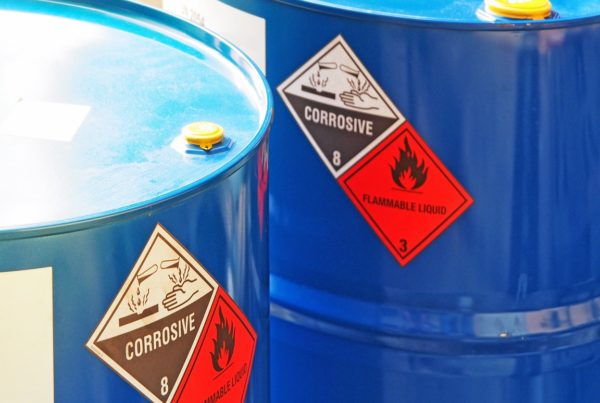 Hazardous Waste Tracking Labels
